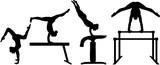 Fototapety Rhythmic gymnastics pictogram