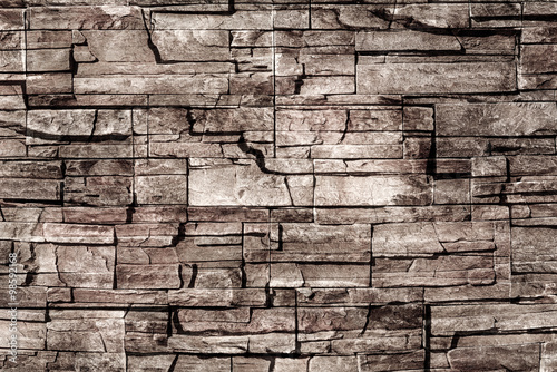 Panel Szklany Old grunge brick wall background