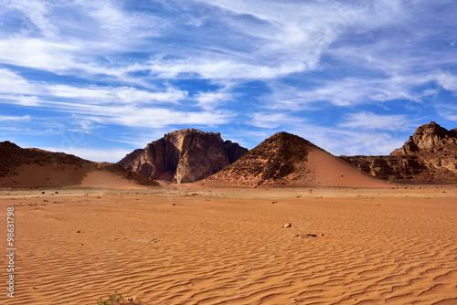 Poster Wadi Rum desert, Jordan