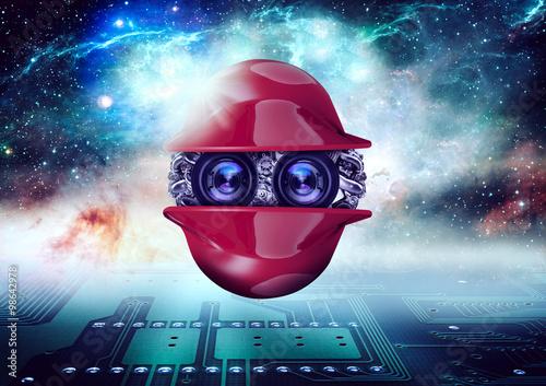 Poster planeta das máquinas