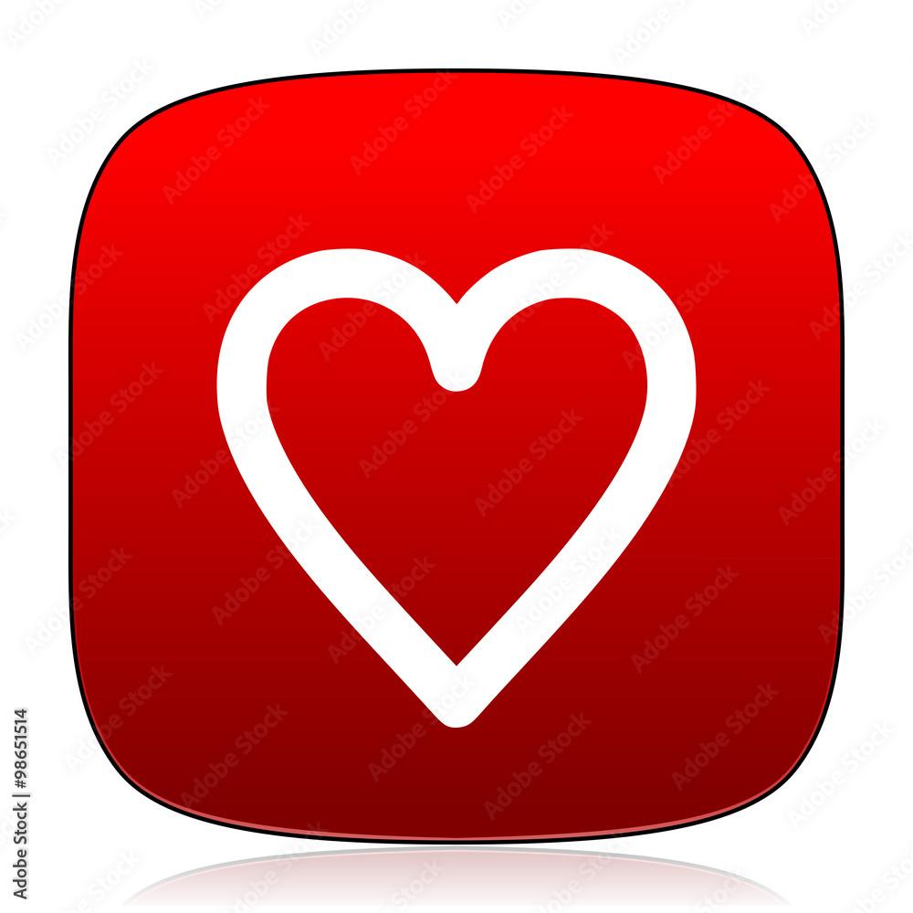 valentine ikona znak - powiększenie