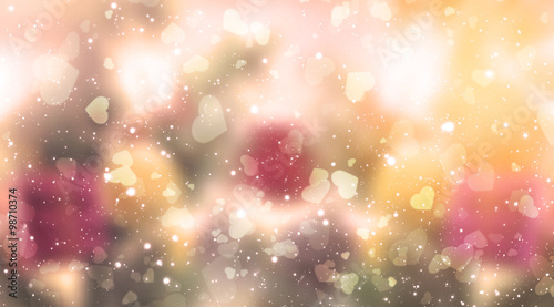 Happy valentine day, Blur and Select focus background