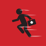 Emergency Concept Vector Illustration.