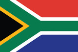 Vector of South African flag - 98730330