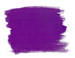 A fragment of the purple background painted with gouache