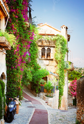 Naklejka beautiful old town of Provence