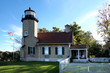 Historic White River Light Station in Michigan