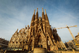 BARCELONA - April 10 2013 : View of Camp Nou stadium before the
