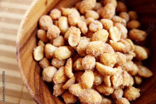 "Homemade Honey Roasted Peanuts"" Fotos de archivo e imágenes libres ..."