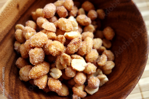 """Homemade Honey Roasted Peanuts"""" Stock photo and royalty-free images ..."""
