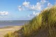 Leinwanddruck Bild - Strand und Dünen