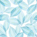 Seamless pattern with Blue flower petal - 98893344