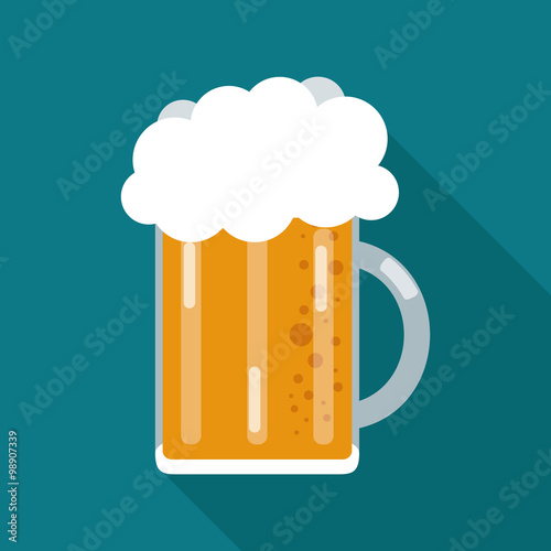 Poster Beer icon design