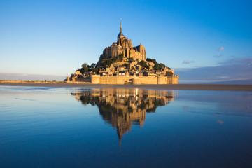 Mont saint michel w Francji