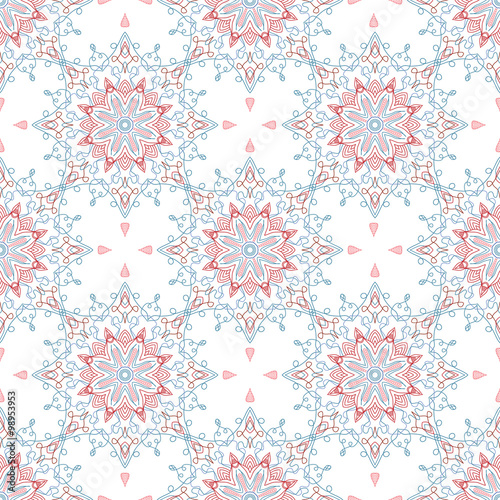 Abstract Seamless Pattern. Vintage Ornament Pattern. Islamic, Ar - 98953953
