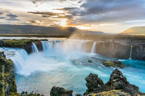 fototapeta na ścianę Beautiful Godafoss waterfall in Iceland