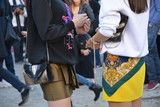 Streetstyle in Paris during fashion week