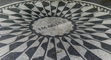 New York City Central Park Strawberry Fields  - 98984577