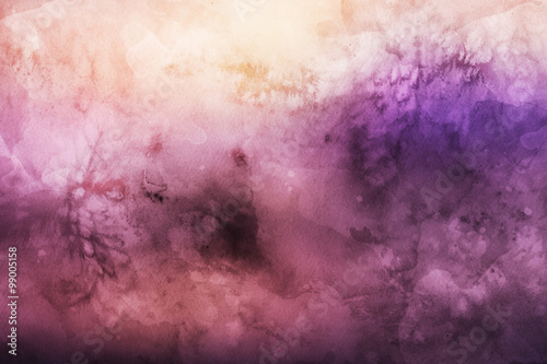 Abstract colorful watercolor background for graphic design - 99005158