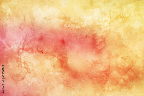 Fototapeta Abstract colorful watercolor background for graphic design