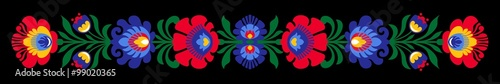 Polish folk flowers © ancymonic