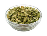 Oregano in a Glass Bowl