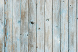 Fototapety Grey and blue background of wooden plank