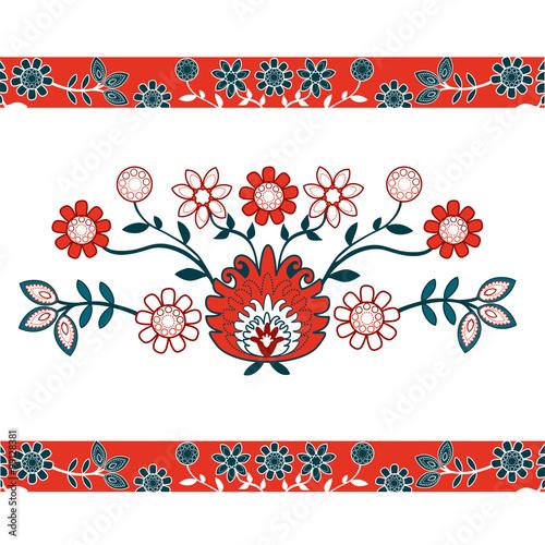 folkowe kwiaty © bridzia2