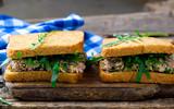 sandwich with a tuna