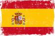 Obrazy na płótnie, fototapety, zdjęcia, fotoobrazy drukowane : Spain Vector Flag on White