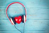Musik über Kopfhörer