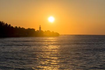 ザンジバルリゾートの夕日