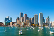Boston, Massachusetts. Beautiful city skyline