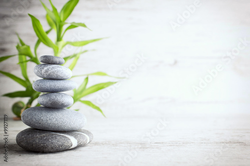 Foto op Canvas Spa Spa stones.
