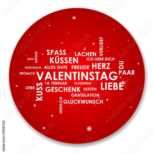 JiSign   Fotolia.com Karte Wörter Valentinstag