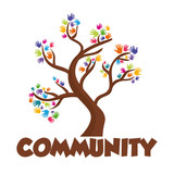 Community people graphic
