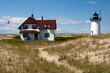 Visitors to Cape Cod can stay at the keeper's house at Race Point light in Provincetown.
