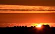 Sunset Saskatchewan Farm