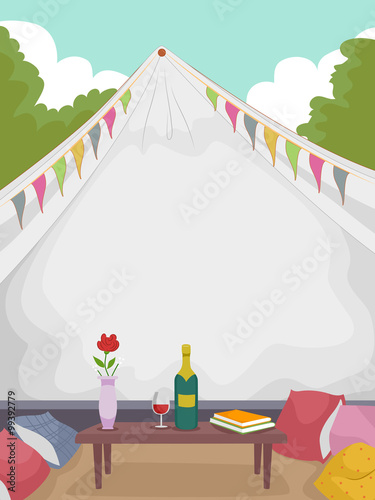 Gl&ing Wine Tent & Glamping Wine Tent | Buy Photos | AP Images | DetailView