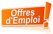 offres d'emploi sur étiquette orange
