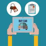 car sale design