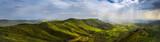 Krajobraz z punktu widzenia w Lalibela
