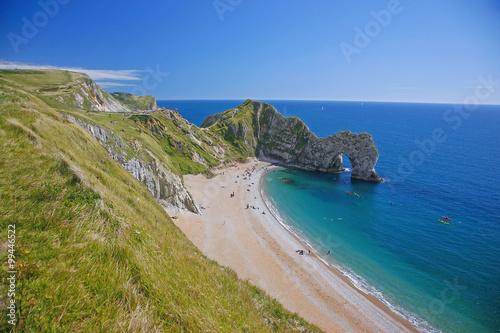 Poster Dorset, Jurassic Coast, Isle of Purbeck, St