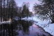 Quadro winter river