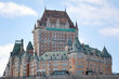 Постер, плакат: Chateau Frontenac viewed from the St Laurent Quebec City Quebe