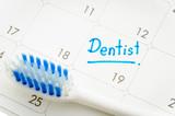 Reminder Dentist appointment in calendar
