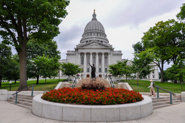 Madison State Capitol, Wisconsin, USA.