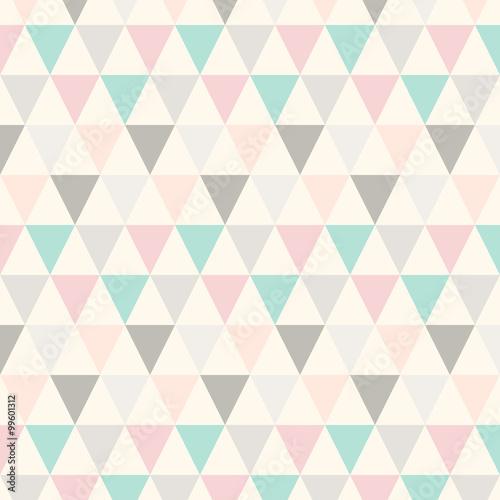 Dreieck Muster Abstrakt Pastell - 99601312