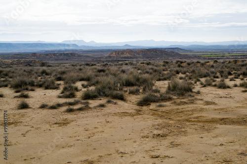 Bardenas semi-desert Poster