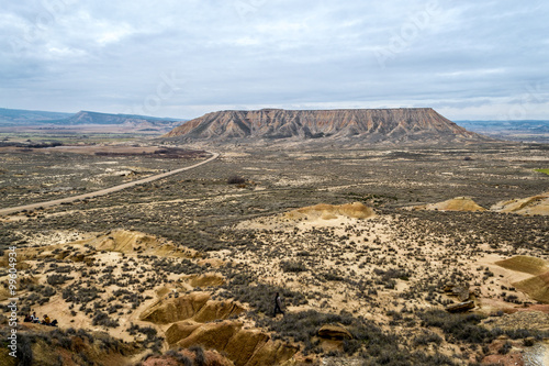Plateau in Bardenas Reales Poster